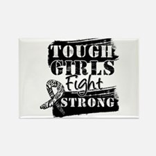 Tough Girls Carcinoid Cancer Rectangle Magnet