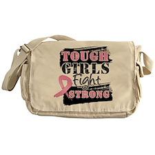 Tough Girls Breast Cancer Messenger Bag