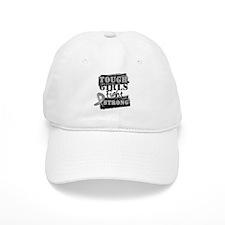 Tough Girls Brain Cancer Baseball Cap