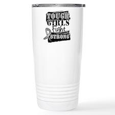 Tough Girls Brain Cancer Travel Mug