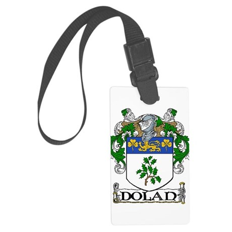 Dolan Coat of Arms Large Luggage Tag