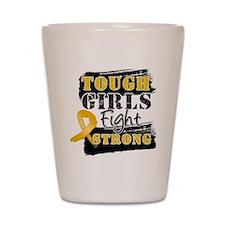 Tough Girls Appendix Cancer Shot Glass