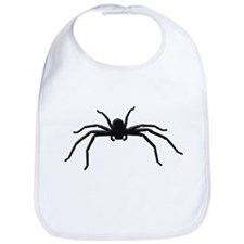Spider silhouette Bib