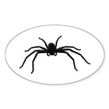 Spider silhouette Decal