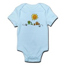 Beach Infant Bodysuit