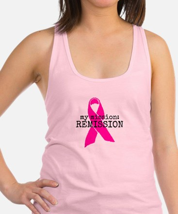 My mission: REMISSION Racerback Tank Top