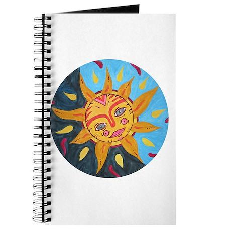 Sun in 2-tone sky Journal
