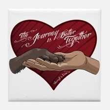 Journey is Better Together Tile Coaster