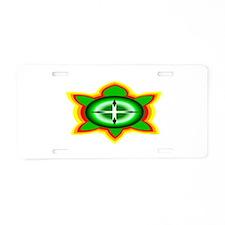 SOUTHEASTERN TRIBAL TURTLE Aluminum License Plate