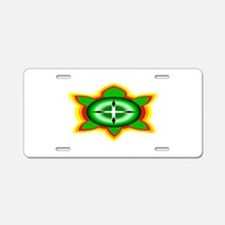 SOUTHEASTERN TRIBAL TURTLE Aluminum License Plate