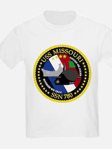 USS Missouri SSN 780 T-Shirt