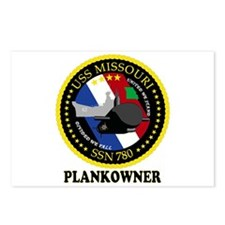 PLANKOWNER SSN 780 Postcards (Package of 8)