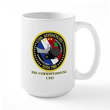 USS Missouri SSN 780 Mug