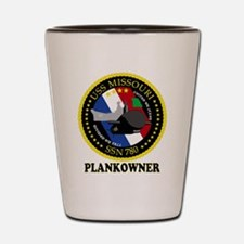 PLANKOWNER SSN 780 Shot Glass