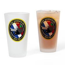 USS Missouri SSN 780 Drinking Glass