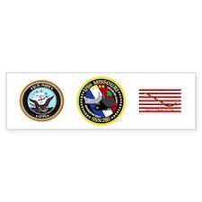 USS Missouri SSN 780 Bumper Sticker