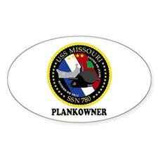 PLANKOWNER SSN 780 Decal