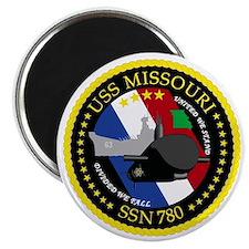 USS Missouri SSN 780 Magnet