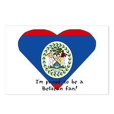 Belizean flag Postcards (Package of 8)
