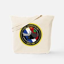 USS Missouri SSN 780 Tote Bag