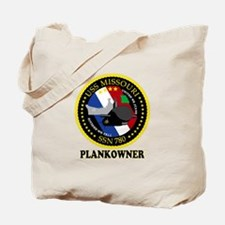 PLANKOWNER SSN 780 Tote Bag