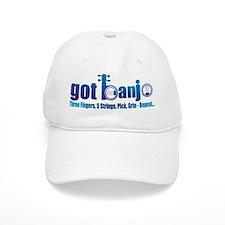 BLUEGRASS BANJO Baseball Cap