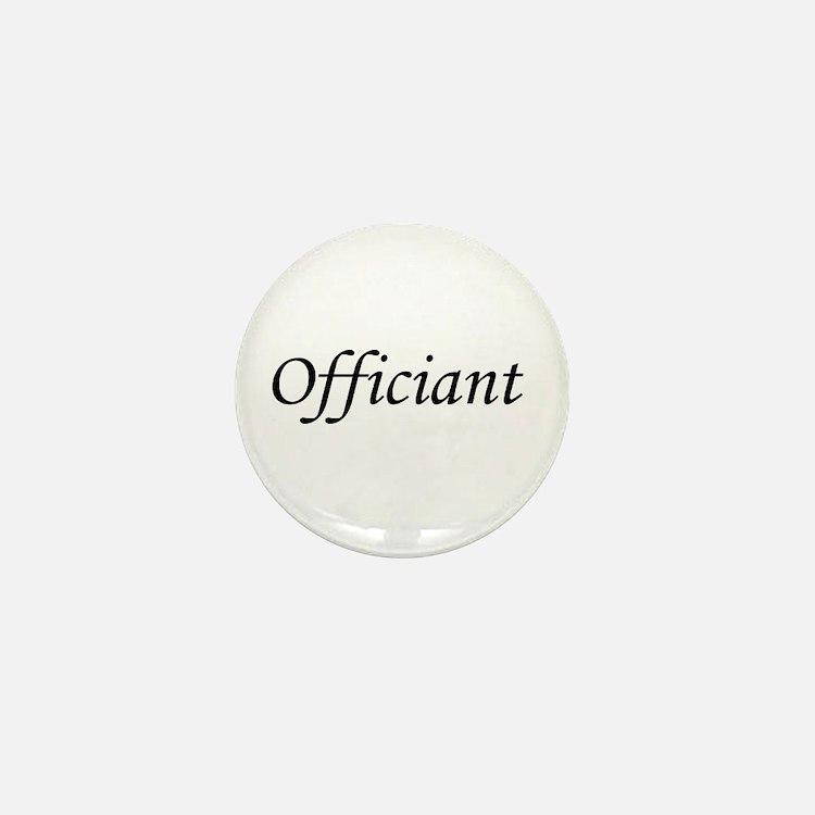 Officiant Mini Button
