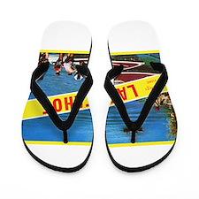 Lake Tahoe Greetings Flip Flops