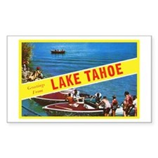 Lake Tahoe Greetings Decal