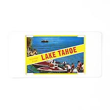 Lake Tahoe Greetings Aluminum License Plate