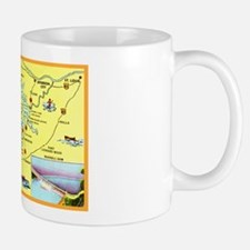 Lake of the Ozarks Map Mug