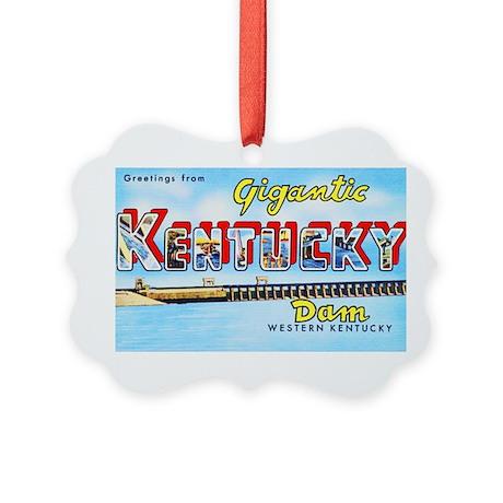 Gigantic Kentucky Dam Picture Ornament