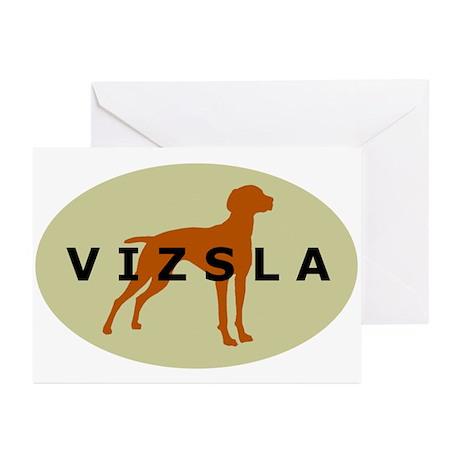vizsla dog Greeting Cards (Pk of 10)