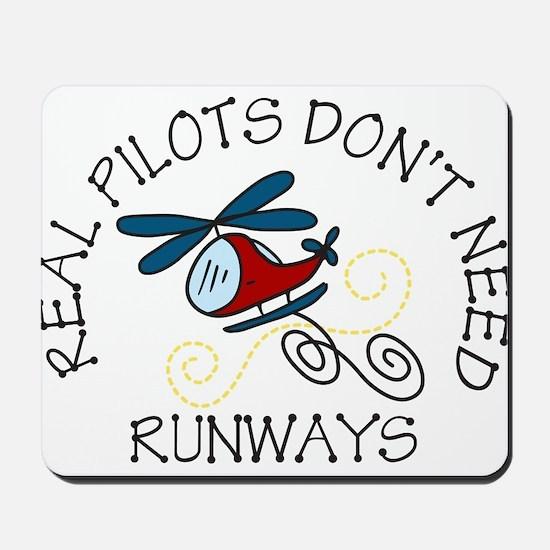 Real Pilots Mousepad