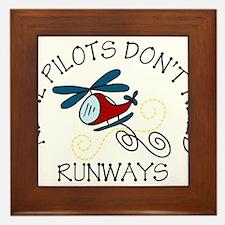 Real Pilots Framed Tile