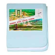 Kennedy Space Center Florida baby blanket