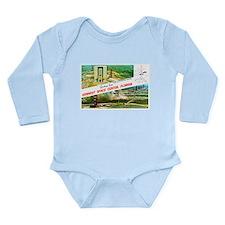 Kennedy Space Center Florida Long Sleeve Infant Bo