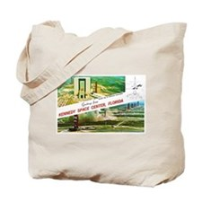 Kennedy Space Center Florida Tote Bag