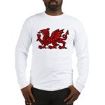 Red Welsh Dragon Long Sleeve T-Shirt