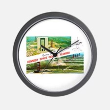 Kennedy Space Center Florida Wall Clock