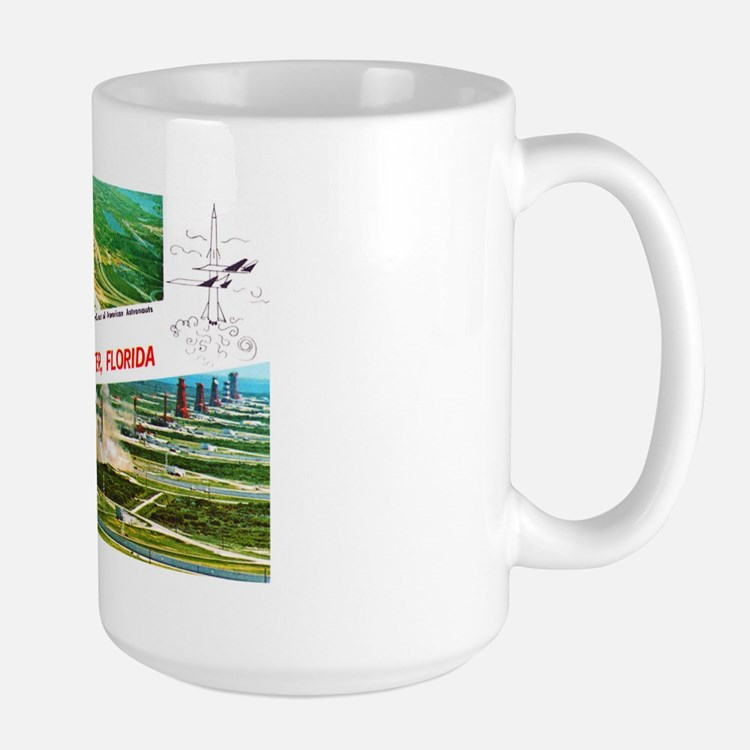 Kennedy Space Center Florida Large Mug