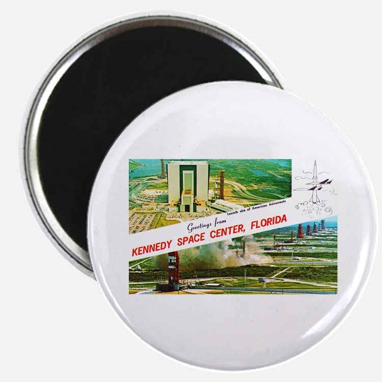 Kennedy Space Center Florida Magnet