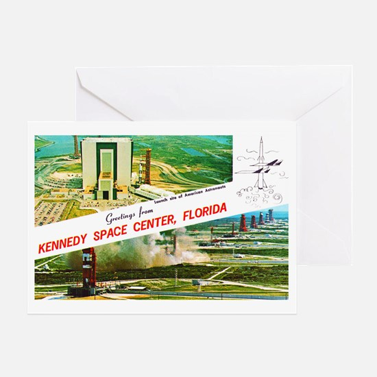 Kennedy Space Center Florida Greeting Card