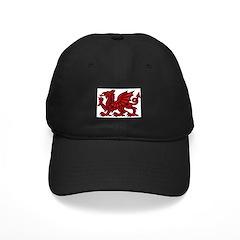 Red Welsh Dragon Baseball Hat