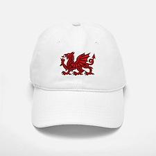 Red Welsh Dragon Baseball Baseball Cap