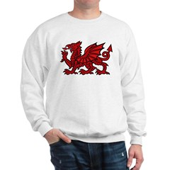 Red Welsh Dragon Sweatshirt