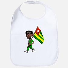 Cute 3D Togo Bib