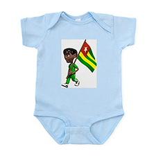 Cute 3D Togo Infant Creeper