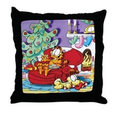 WAITING FOR SANTA! Throw Pillow