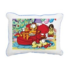 WAITING FOR SANTA! Rectangular Canvas Pillow